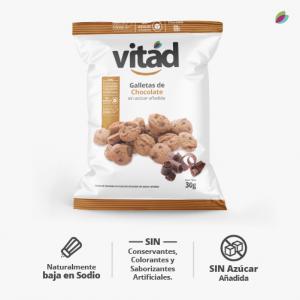 Galletas de chocolate VITAD