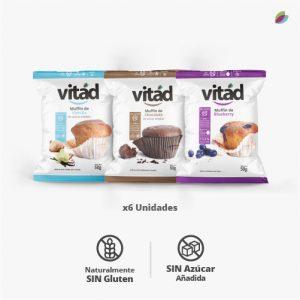 Muffins variados VITAD