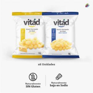 Snacks variados VITAD